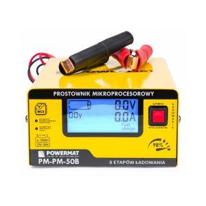 Nabíječka autobaterii - mikroprocesorová 12 / 24V   PM-PM-50B