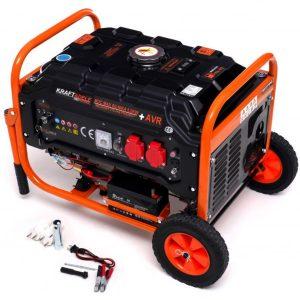 Elektrocentrála 5.2kW/7HP 12V/230V s elektrickým startem | KD162 je ideální na napájení: domů, kanceláří, vozidel.